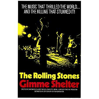 Gimme Shelter - Rolling Stones Movie Poster (11 x 17)
