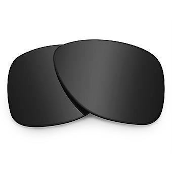 Replacement Lenses for Oakley Dispatch 2 Sunglasses Anti-Scratch Dark Black