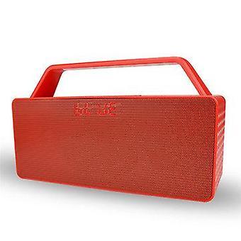 المحمولة لاسلكية بلوتوث المتكلم HiFi وحدة مزدوجة 3D ستيريو باس FM