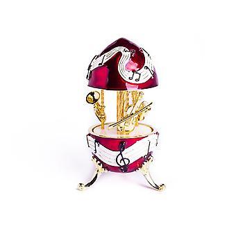 Viool Saxofoon trompet trinket box