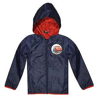 Disney cars kids (2-8) rainjacket hoodie impermeable lightweight sweatjacket