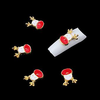 Drip Glaze Deer Alloy Nail Ornament Section Hot Selling Art