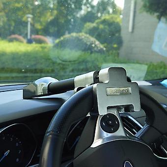 Security Alarms/bell Loud Sound Steering Wheel Locks Clamp T-lock