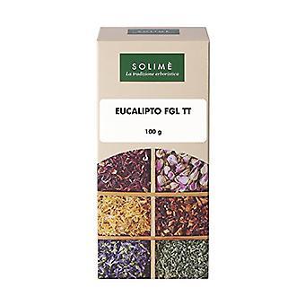 Eucalyptus herbal tea cut sheets 100 g