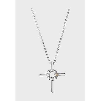قلادة كاليفالا قابل للتعديل 42/45cm الصليب من الفضة الخفيفة 2270270ZISH45