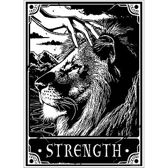 Deadly Tarot Strength Poster