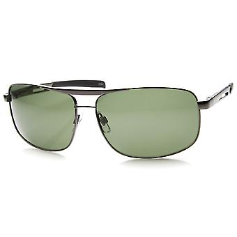 Mens Sport Sunglasses With UV400 Protected Polarized Composite Lens