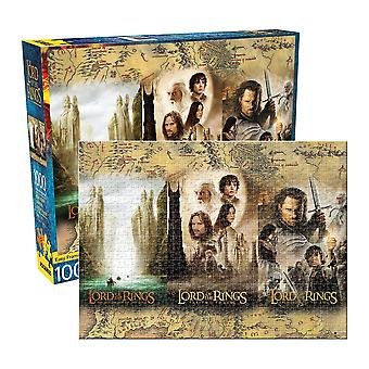 Lord of the rings treenighed 1000pc puslespil