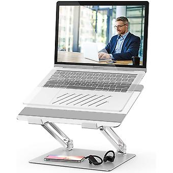 POVO Laptop Stand Adjustable Laptop Riser with Heat-Vent  Computer Stand