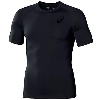 Asics Mens Muscle Support Top Running Gym Compression T-Shirt 110468 0904
