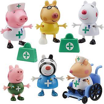 Peppa Gris Læger & Sygeplejerske Figur Pack