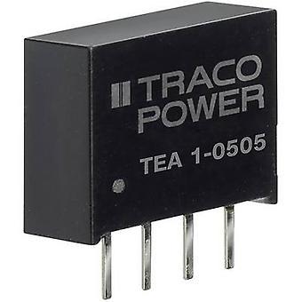 TracoPower TEA 1-0505 DC/DC converter (print) 200 mA 1 W No. of outputs: 1 x