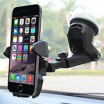 360° autonpidikkeen kiinnityskiinnike matkapuhelimeen, matkapuhelimeen & Gps-sisätelineeseen