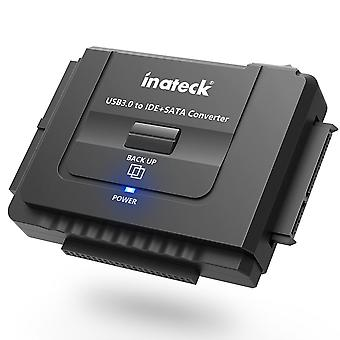 """Inateck ide or sata to usb 3.0 universal converter hard drive adapter with power switch for 2.5""""/3.5"""