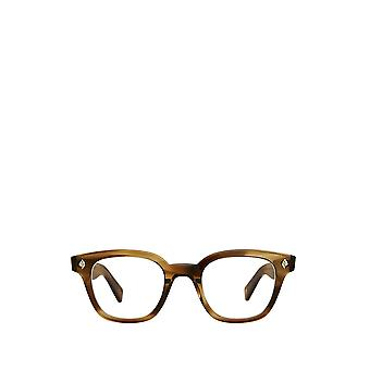 Garrett Leight NAPLES khaki tortoise male eyeglasses