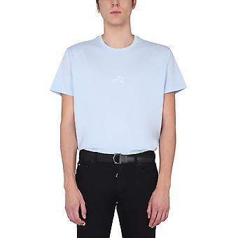 Givenchy Bm710s3002453 Men's Light Blue Cotton T-shirt