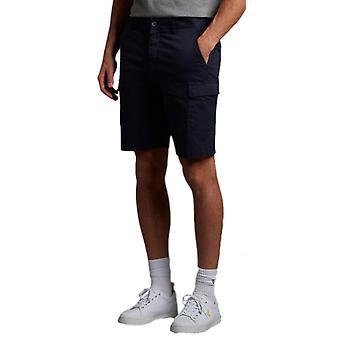לייל & סקוט מטען מכנסיים קצרים SS21 חיל הים 03