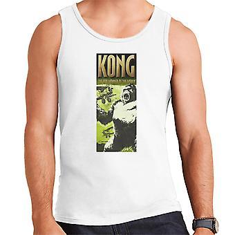 King Kong siendo invadido por biplanos La 8a maravilla del mundo Hombres's chaleco