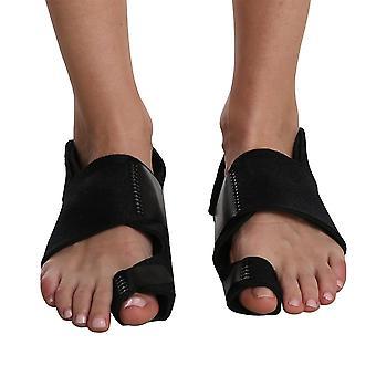 1 Par de bunion cómodo alivio del dolor plancha ajustable hallux cinturón de corrección suave respirable pies cuidado separador del dedo del pie