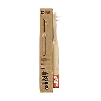 Bamboo Toothbrush for Children - Red 1 unit