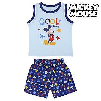 Children's pyjama mickey mouse dark blue shorts