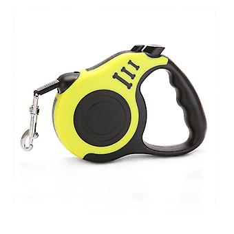 360° Tangle-free, Heavy Duty Retractable Dog Leash With Anti-slip Handle One-handed Brake, Pause, Lock Tangle-free Retractable Dog Leash Dispenser 3m