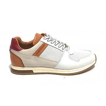 Men's Shoe Ambitious 11240 Sneaker Running White/ Camel Us21am13