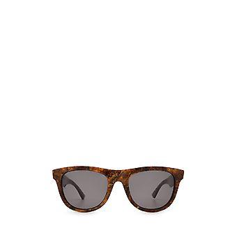 Bottega Veneta BV1001S óculos de sol unissex de bronze