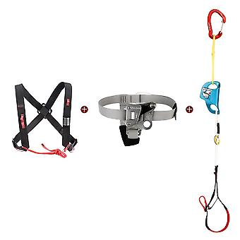 Rock Climbing Foot, Ascender Riser With Pedal Belt, Grasp Rope Gear