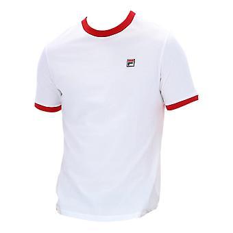フィラ マルコーニ Tシャツ - ホワイト / レッド