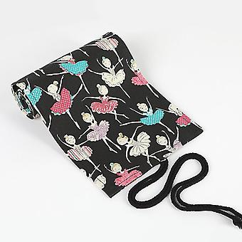 Kawaii Canvas Pen Case Bag Box