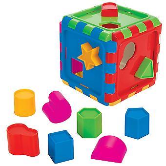 Pilsan Forms Sorterer Box 03226 Sortering Spel Slot Tio olika former