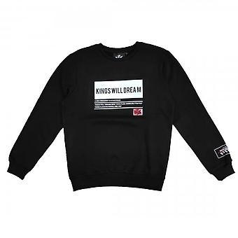 Kings Will Dream Tayport Crew Neck Black Sweatshirt