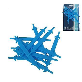 Unisex silicon elastic șireturi pentru adidași