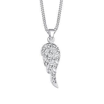 Elli Naisten kaulakoru Boho Ala Riipus Sterling 925 Hopea Swarovski Kristallit