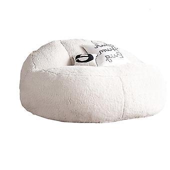 Tukku iso karitsa samettinen turkispapu pussi sohva kansi ei täyteainetta
