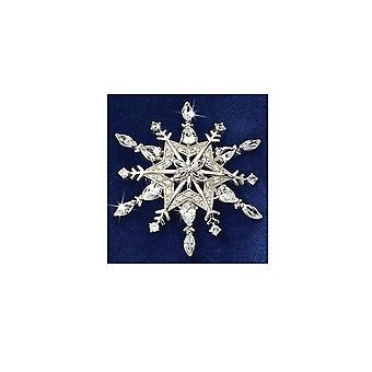 Waltz of The Snowflakes Diamond Brooch