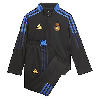 Real Madrid 2021-2022 Trening pentru sugari (Negru)