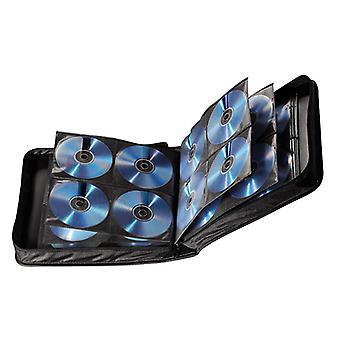 Hama CD Wallet Nylon 208, Black - 00033835