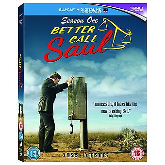 עדיף להתקשר סול עונה 1 (Blu-ray)