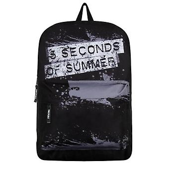 5 Seconds Of Summer - Splatter Logo Classic Rucksack