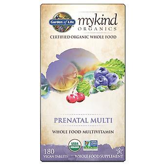 Garden of Life mykind Organics Prenatal Multi, 180 Faner