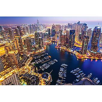 Castorland Dubai at Night Jigsaw Puzzle (1000 Pieces)
