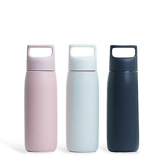 FunHome Portable Thermos Cup 450ML with Tea Filter Portable Mug Water Bottle Vacuum Cup