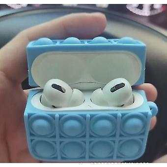 Airpods Pro Cases cobrem alívio de estresse Caso Pop Descompressão Soft Silicone Wireless Bluetooth