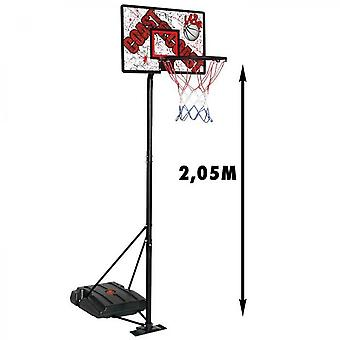Cdts Basketball Panel With Leatable Base - Max. 2,05m