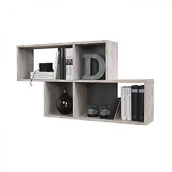 Wall Shelf With Four Compartments
