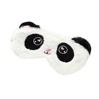 Panda Makuunaamio Silmänaamari Suoja pehmeä Silmälapa silmälaita Silmät