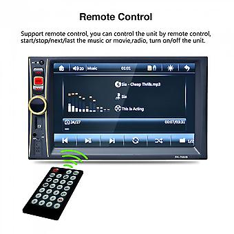 6.6 Inch Hd Car Radio Mp5 Player Touch Screen With Bluetooth Rear View