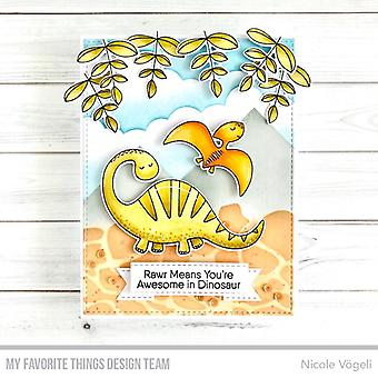 """My Favorite Things Clear Stamps 4""""X6"""" - A-roar-able"""
